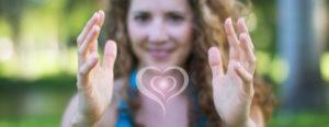 Michelle Heart Hands