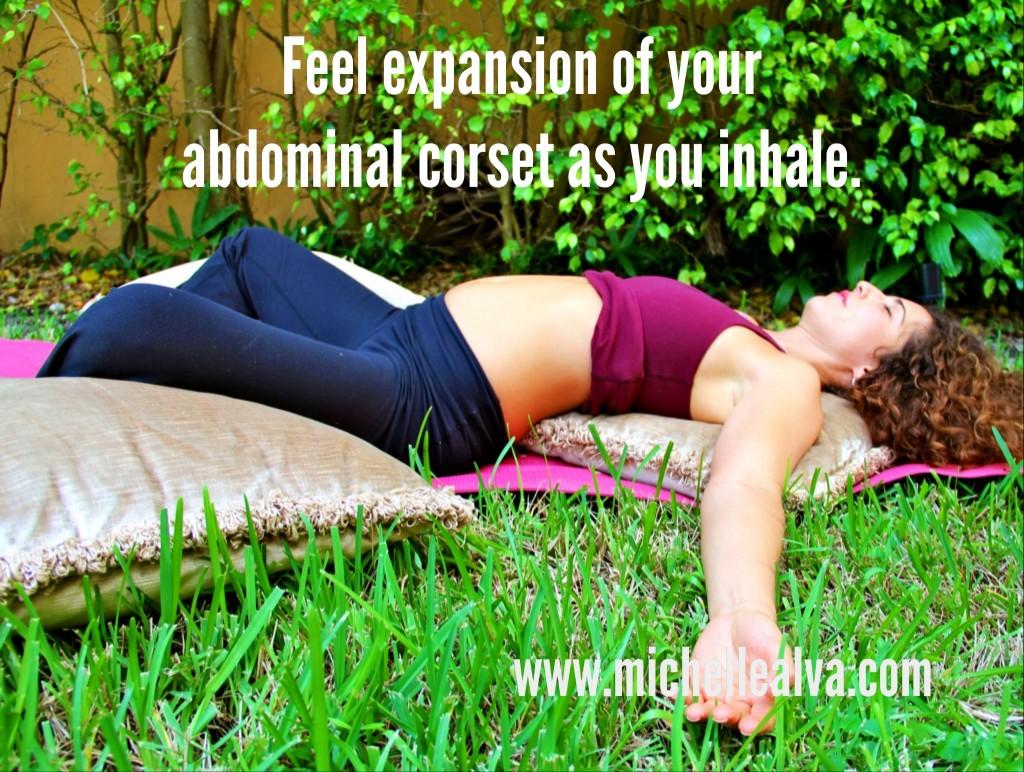 Corset Awareness Exercise www.michellealva.com