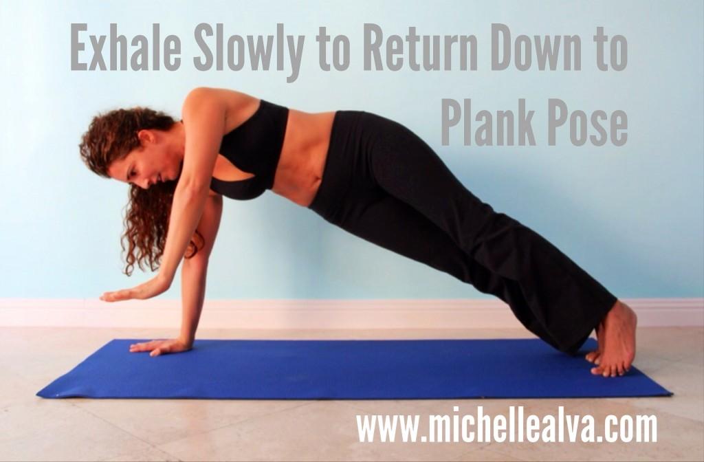 Exhale Yoga Plank Pose Side Plank Pose