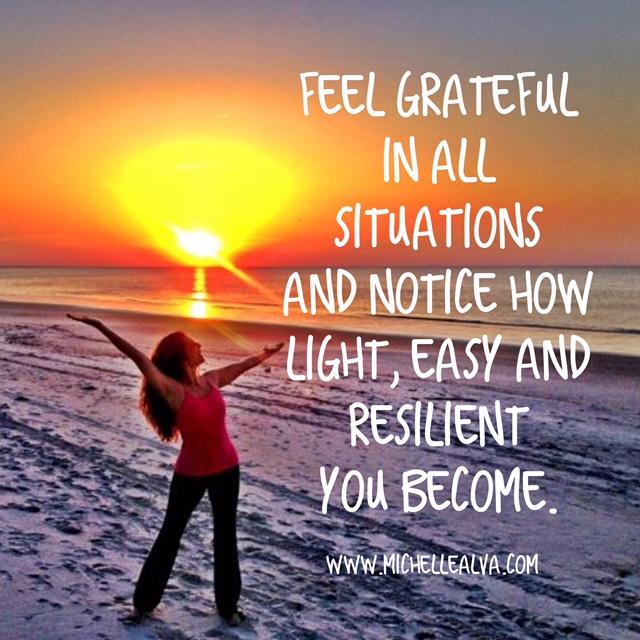 Gratitude de-stresses